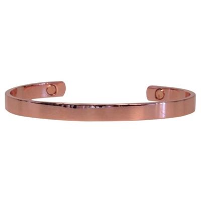Bracelet Magnétique Cuivre - Modèle 2 Simple Plat