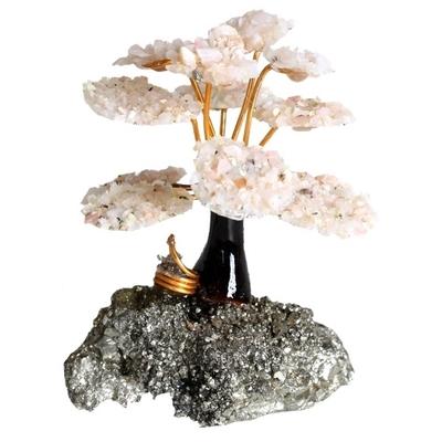 Arbre du Bonheur Opale Rose du Pérou
