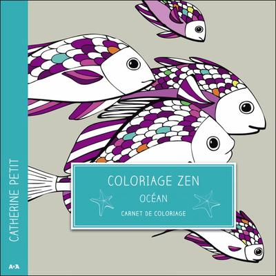 Coloriage Zen - Océan - Catherine Petit