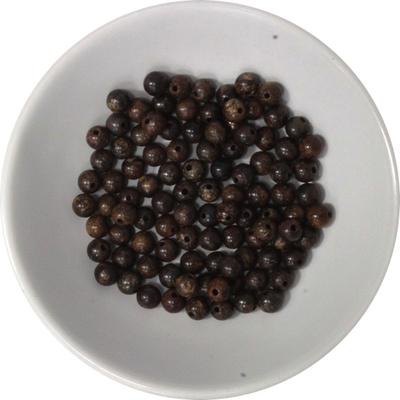 Perles Bronzite 4 mm - Sachet de 100 Perles