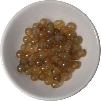 Perles Cornaline Naturelle 6 mm - Sachet de 66 Perles