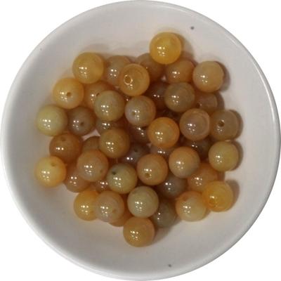 Perles Cornaline Naturelle 8 mm - Sachet de 50 Perles
