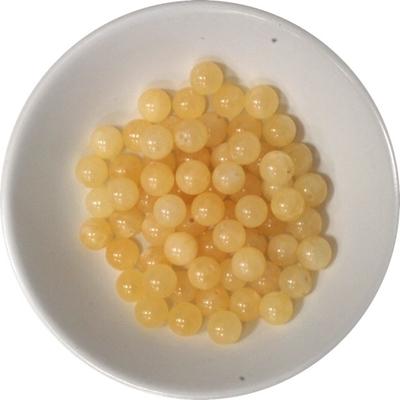 Perles Calcite Orange 6 mm - Sachet de 66 Perles