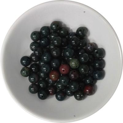 Perles Héliotrope 6 mm - Sachet de 66 Perles