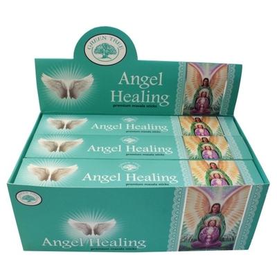Encens Green Tree Angel Healing 15 grammes - Lot de 12