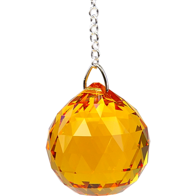 Boule de Cristal à Facettes Topaze : Svadhisthana