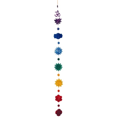 Attrape Soleil 7 Chakras Multicolore Avec Perles