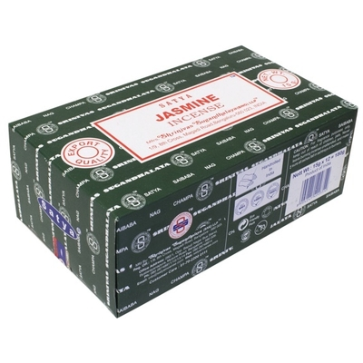 Encens Nag Champa Satya - Jasmine - 15 grs - Lot de 12