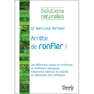 Arrête de Ronfler ! Les Différentes Causes du Ronflement - Dr. Jean-Loup Dervaux