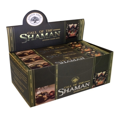 Encens Green Tree - Call of The Chaman 15 gr - Lot de 12