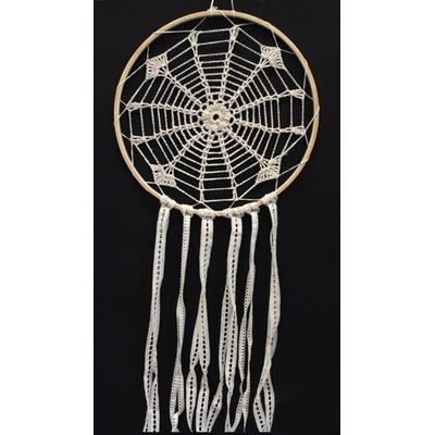 Dreamcatcher Crochet et Dentelle Ingram beige - 30 cm