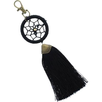 Porte Clés - Dreamcatcher - Pompon Noir