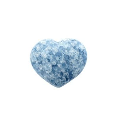 Coeur Calcite Bleue - 5 cm