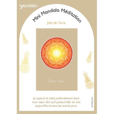 Mini Yandala Méditation - Joie de Vivre