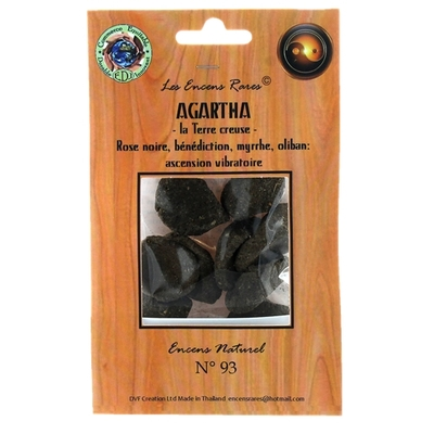 Agartha - La Terre Creuse - Ascension Vibratoire - 25 gr