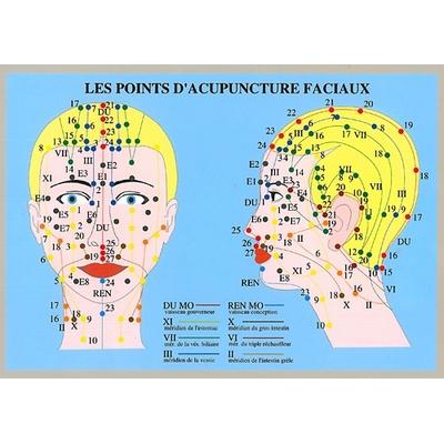 Points Acupuncture Faciaux