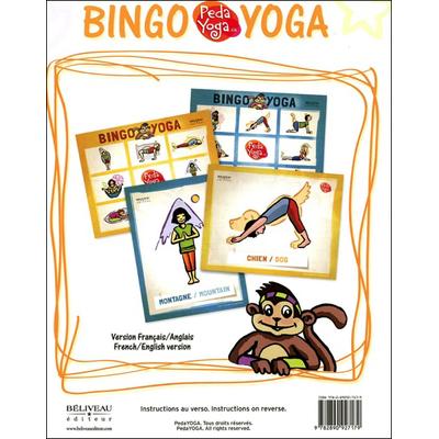 Bingo Yoga Pour les Enfants - Jeux et Postures - France Hutchison