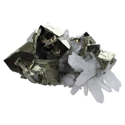 Amas Pyrite et Cristaux - 1,7 à 1,75 kilos