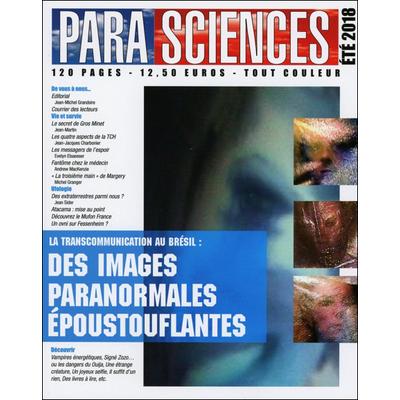 Parasciences - Revue Trimestrielle - Eté 2018