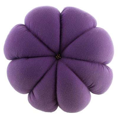 Coussin de bol - Violet avec Perles