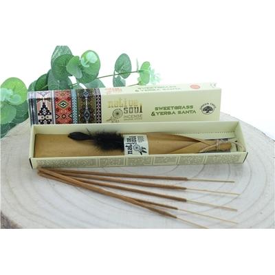 Encens Green Tree Native Soul Foin d'odeur & Yerba Santa - 15 grs
