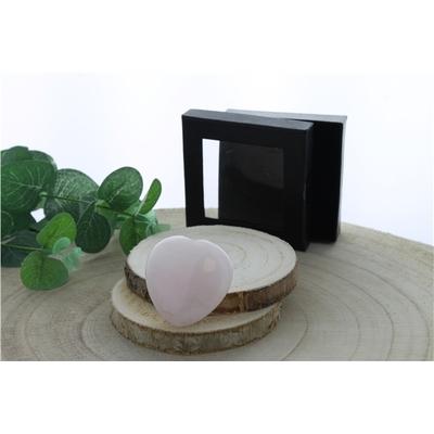 Coeur Quartz Rose - 4,5 cm