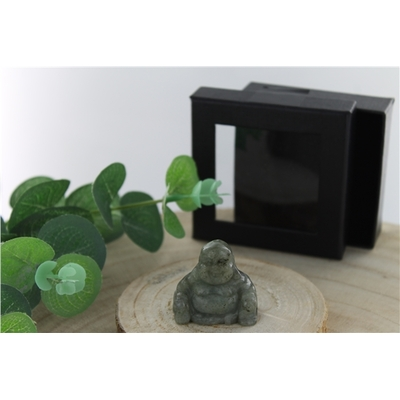 Bouddha Labradorite 4 cm