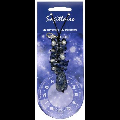 Bijoux Zodiac Sodalite - Sagittaire