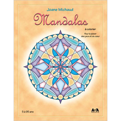 Mandalas à Colorier - Joane Michaud