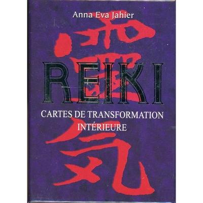 Reiki - Cartes de Transformation Intérieure - Coffret - Anna Eva Jahier