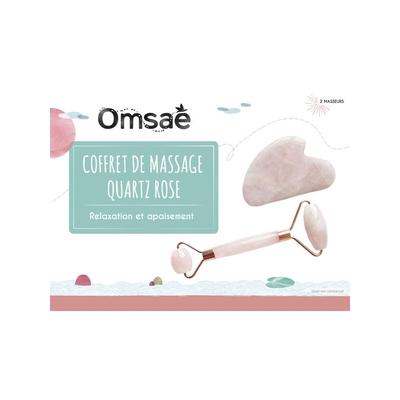 Coffret Massage Quartz Rose pour le Visage