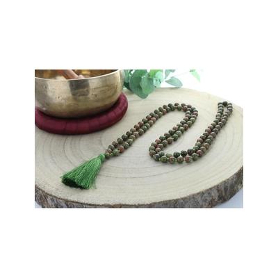 68985.2-Mala en Unakite 108 perles