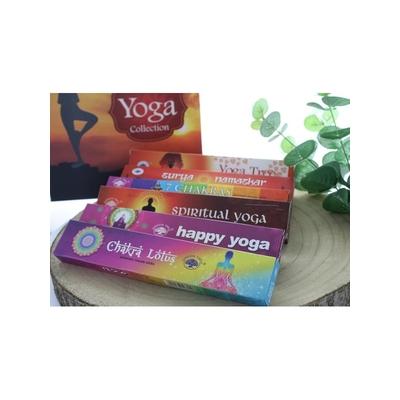 Coffret Encens Bâton Green Tree Yoga 6 Fragrances