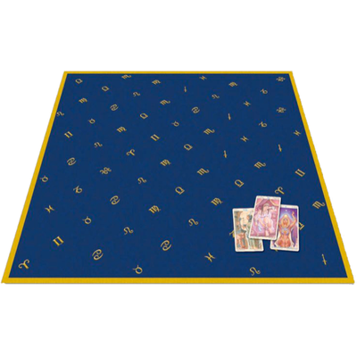 Tapis de Cartes Astrologie Velours