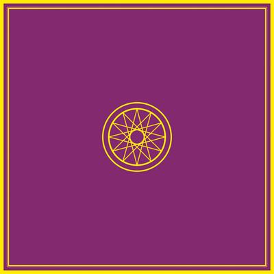 Tapis de Cartes Violet  Ésotérique