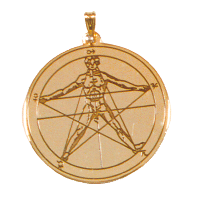 Pentacle Agrippa - Protection Universelle