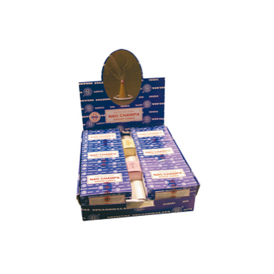 Encens Nag Champa Cones - 12 Boîtes