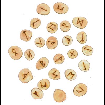 Runes en Bois Massif