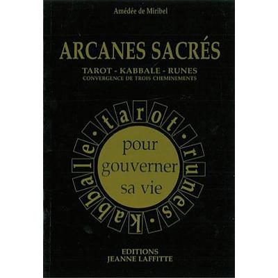 Arcanes Sacrés  - A. de Miribel