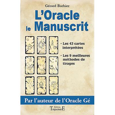 Livre Oracle Le Manuscrit - Gérard Barbier