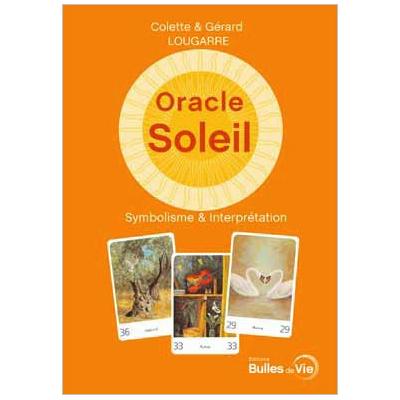 Livre Oracle Soleil - Colette & Gérard Lougarre