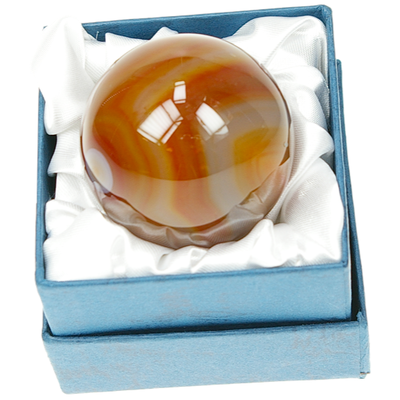 Sphère Cornaline - 40 mm