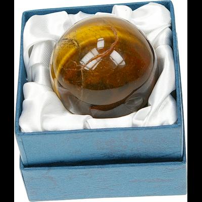 Sphère Oeil de Tigre - 40 mm