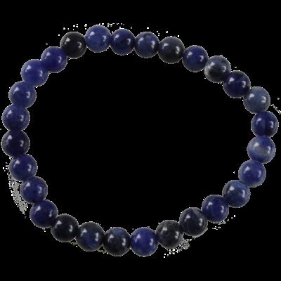 Bracelet Perles rondes Sodalite 6 mm