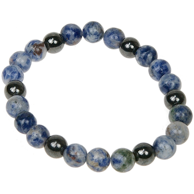 Bracelet Magnétique Sodalite