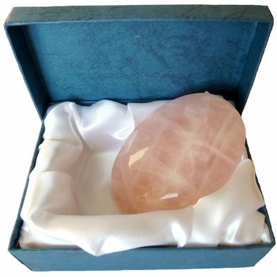 Galet Quartz Rose - 5 x 7 cm