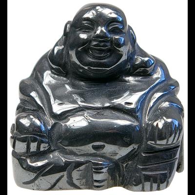 Bouddha Rieur Hematite