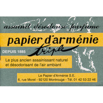 Carnet Papier d'Arménie