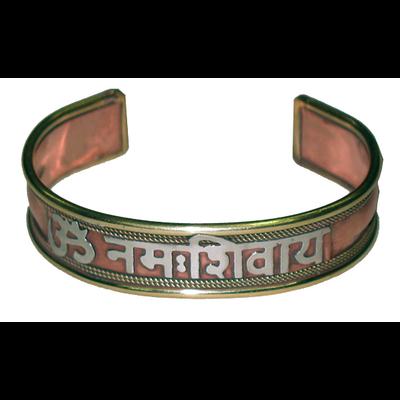Bracelet Cuivre OM Nama Shiva