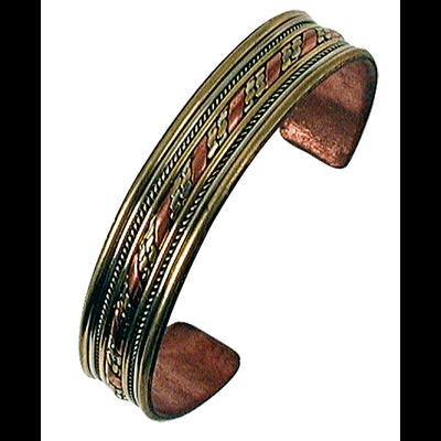 Bracelet 3 Métaux - Largeur 1,3 cm